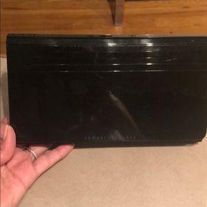 Armani exchange clutch/purse